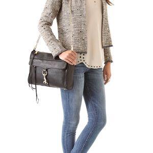 Authentic Rebecca Minkoff Black MAC Crossbody Bag